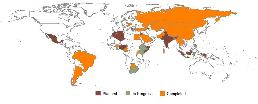 TQS implementation 2008-2017